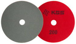 KGS SWIFLEX CX - 100MM - RED 200 GRIT