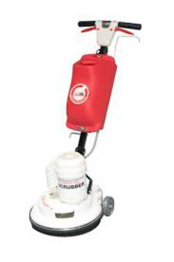 POLIVAC - C27 Rotary  Scrubber with Tank