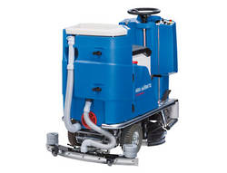 COLUMBUS RIDE ON SCRUBBER DRIER 66CM BATTERY  (C/W BATTERIES, BRUSH ,PAD HOLDER)