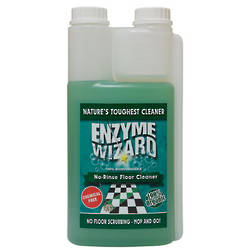 ENZYME NO RINSE FLOOR CLEANER  1L TWIN PACK