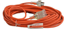 EXTENSION LEAD 15M NORMAL DUTY 10AMP