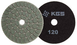 KGS SPEEDLINE CM DISC - 100MM - BLACK 120  GRIT