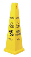 FLOOR SIGN CONE 690MM - MED