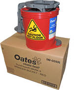 BUCKET MOP OATES - RED - DURACLEAN