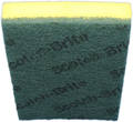 SCOURER SPONGE 3M GREEN/YELLOW BEST 630