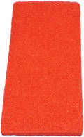 UTILITY PAD 250x115 RED