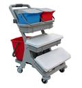 SUPA MINI FLAT MOPPING TROLLEY COMPLETE DELUX