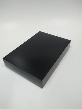 Black Gift Box - Card Base and Lid