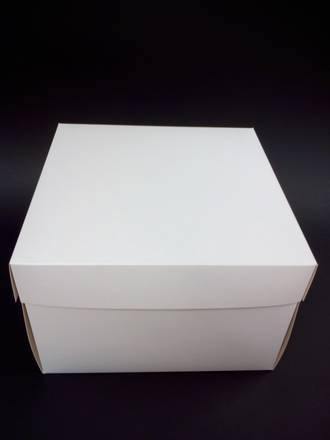 Tall Cake box with Lid - 12 x 12 x 8