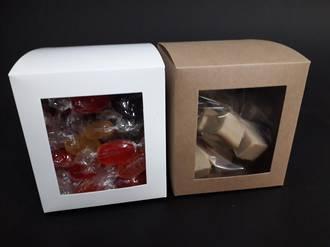 Large Confectionery Box - PVC Side Window