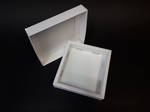 Card Base & Lid - White/Kraft