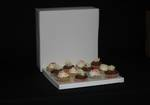 12 - Cupcake White Box 60mm Standard Insert - 12 x 12 x 4""