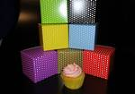 Single Cupcake Printed Stock Colour Box