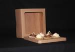"6 - Cupcake Eco Window Box 60mm Standard Insert - 10 x 10 x 4"""