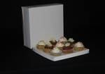 9 - Cupcake White Box 60mm Standard Insert - 10 x 10 x 4""