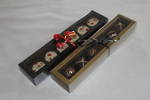 6 Piece Chocolate Box Double Walled Card Base & PVC Lid +Insert