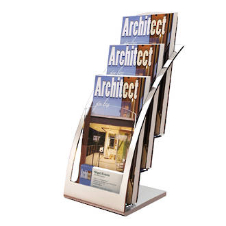 DLE 3 Tier, Silver Frame (Also available in black)