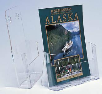 A4 Premium Range, Freestanding/Wall Mounting, High Back Brochure Holder