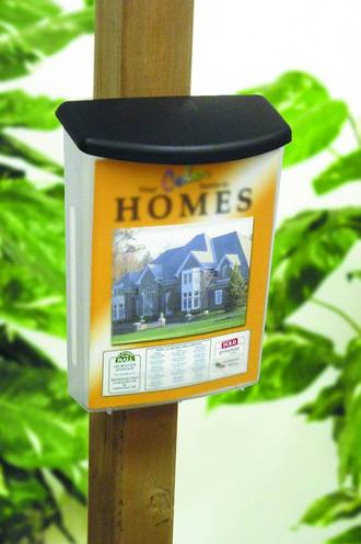 Outdoor brochure holder - A4