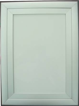 Snap Frame Double Extrusion Silver A3