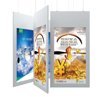 Double sided digital display