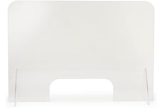 Freestanding (sneeze guard) safety screen 1,200mm x 800mm