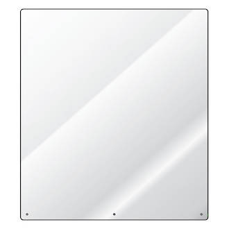 Safety screen (sneeze guard) made from sturdy 6mm polycarbonate
