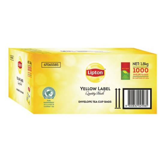 Liptons Tea Envelopes x 1200