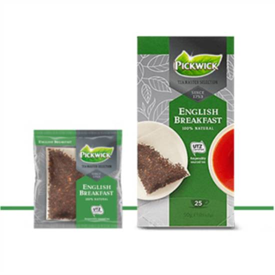 Pickwick English Breakfast Tea Master Selection Tea Bags 3x25