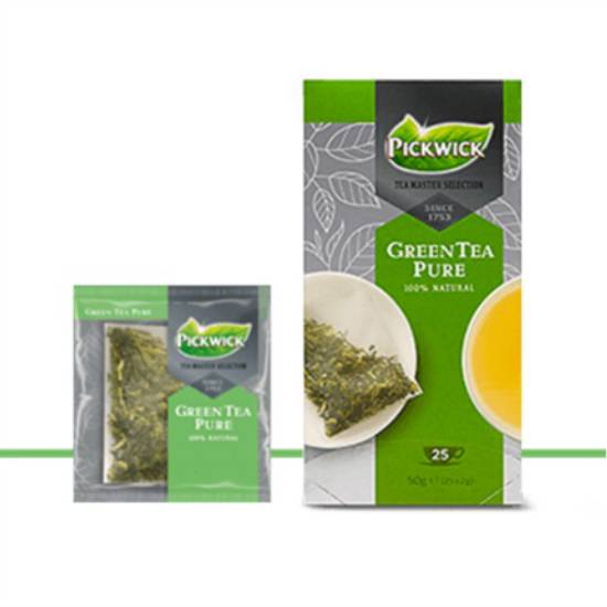 Pickwick Green Tea Pure Tea Master Selection Tea Bags 3 x 25