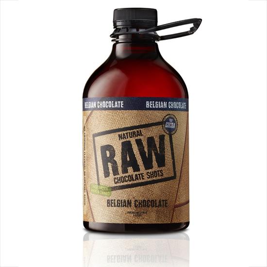 RAW Belgian Choc Coffee Syrup 1000ml