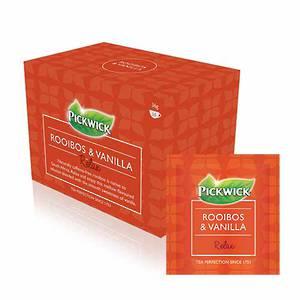 Pickwick Rooibos & Vanilla Tea Envelopes x 20