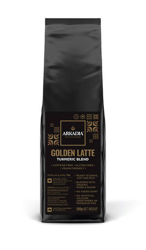 Arkadia Golden Latte Turmeric 500gm
