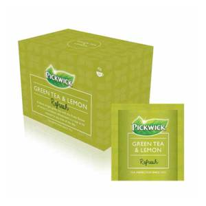 Pickwick Green Tea Lemon Tea Envelopes x 20