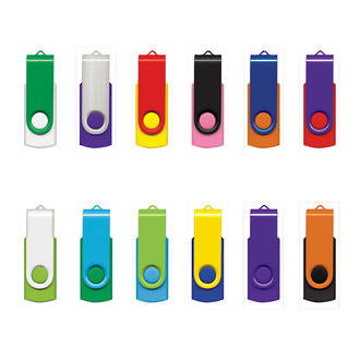 Helix USB 2GB Mix & Match Flash Drive