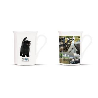 Vogue Bone China Coffee Mug