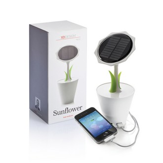 Solar Sunflower 2500mAh Charger