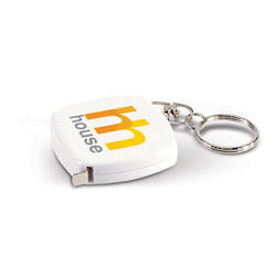 Tape Measure Key Ring