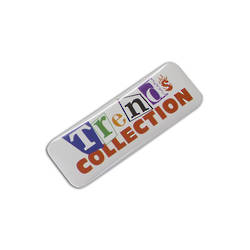 Button Badge Rectangle - 25 x 70mm