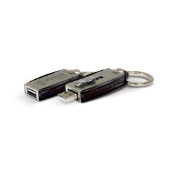 Key Ring USB 4GB Flash Drive