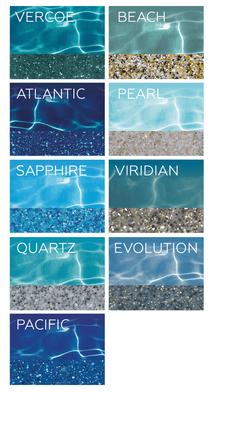 Bi-Luminate Colour Range by Compass Pools