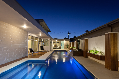 Fastlane swimming pool by Compass Pools NZ