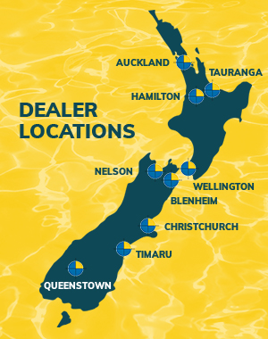 Locations of our NZ pool dealers