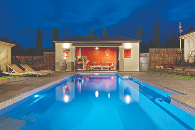 Vogue swimming pool by Compass Pools NZ