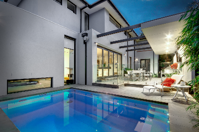 Plunge swimming pool by Compass Pools NZ