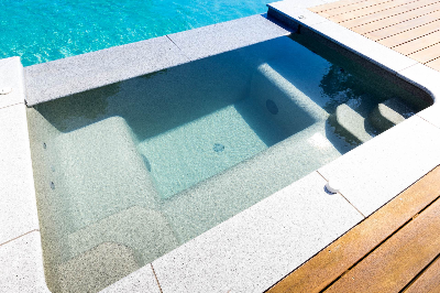 Spa pool available from Compass Pools NZ