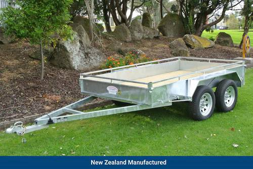 Heavy Duty Tandem Axle Trailer 2700 x 1500mm (9'x5')
