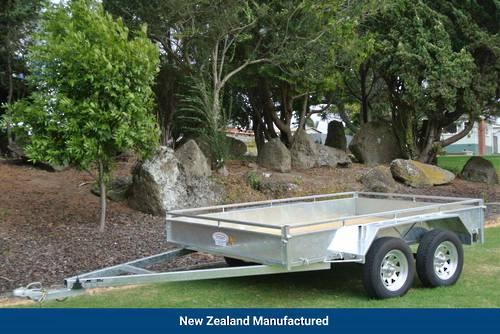 Heavy Duty Tandem Axle Trailer 2700 x 1800mm (9'x6')