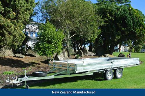 Flat Deck Tandem 4820 x 2200mm (15.8'x7.2')