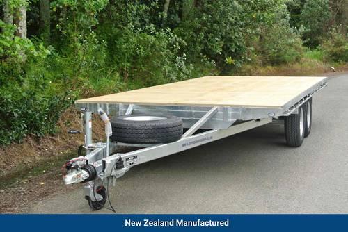 Flat Deck Tandem 4820 x 2200mm 3500kg GVM 4 Wheel European Braking